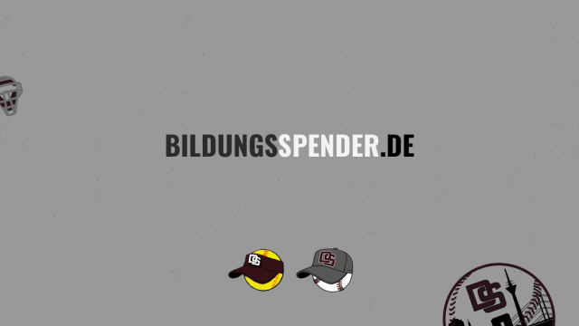 SUPPORT US WITH BILDUNGSSPENDER