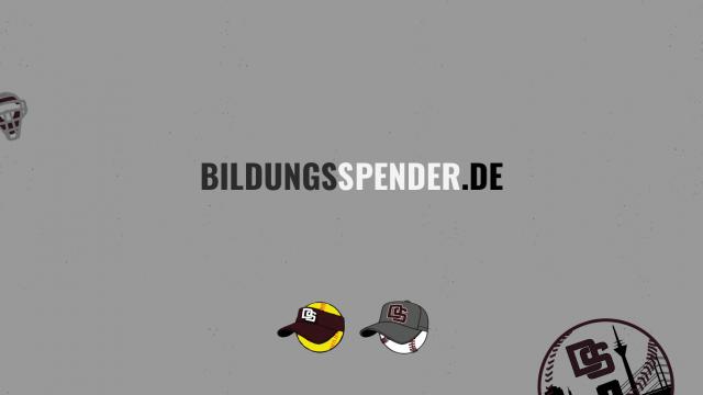 SUPPORT US WITH BILDUNGSSPENDER