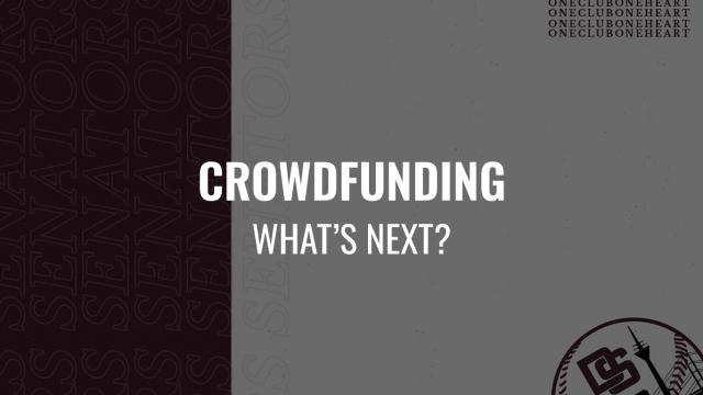 CROWDFUNDING: WHAT'S NEXT?