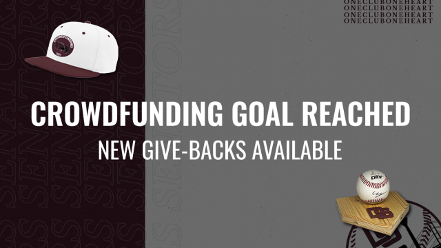 CROWDFUNDING GOAL REACHED